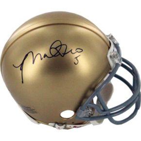 Steiner Sports Notre Dame Manti Te'o Autographed Mini Helmet