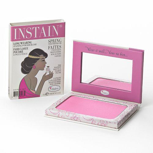theBalm Instain Long-Wearing Staining Powder Blush