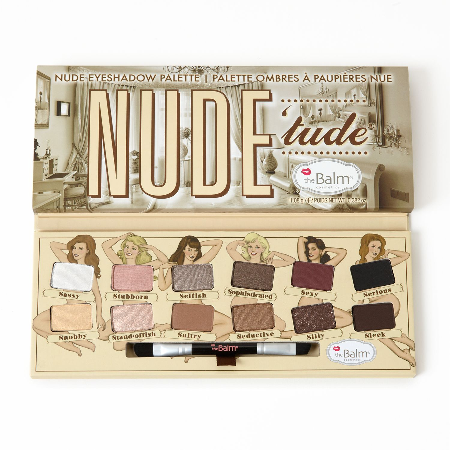 The balm nude tude palette pic 628