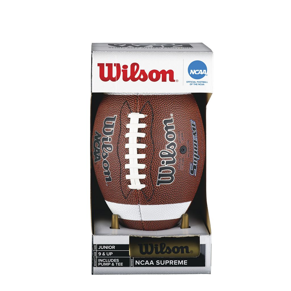 Wilson NCAA Supreme Junior Football Set