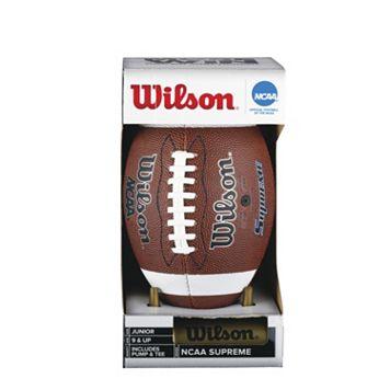 Wilson NCAA Supreme Junior Football Set