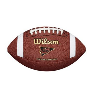 Wilson NCAA Composite Peewee Size Football