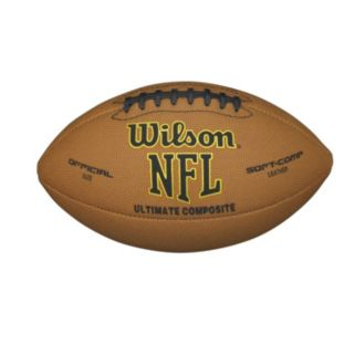 Wilson NFL Ultimate Composite Leather Official Size Football