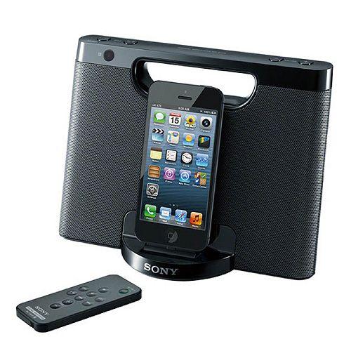 Sony Portable Lightning Speaker & Charging Dock