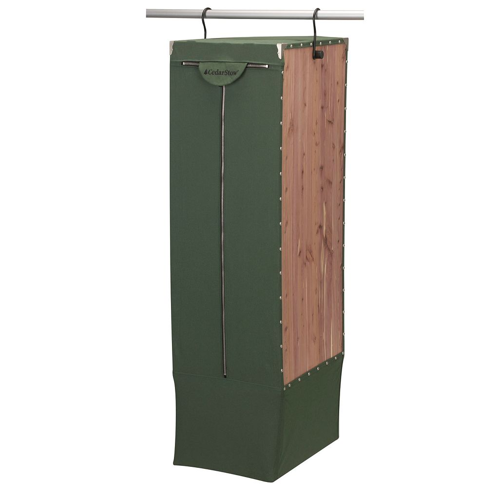 Design Trend CedarStow 6-Compartment Hanging Long Garment Bag