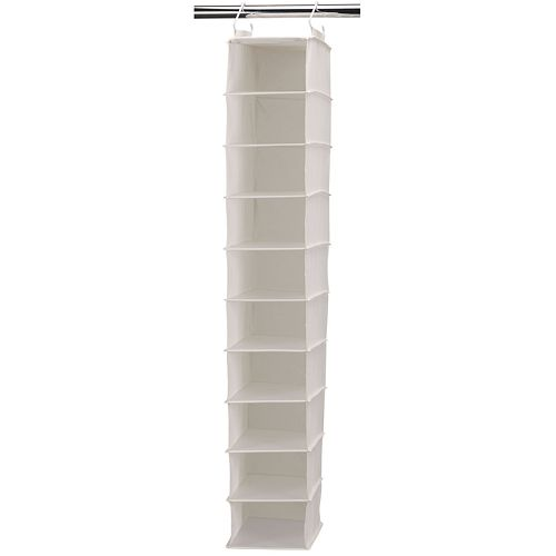 Household Essentials 10-Compartment Wide Hanging Organizer