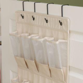 Household Essentials Cedarline 24-Pocket Over-The-Door Shoe Organizer