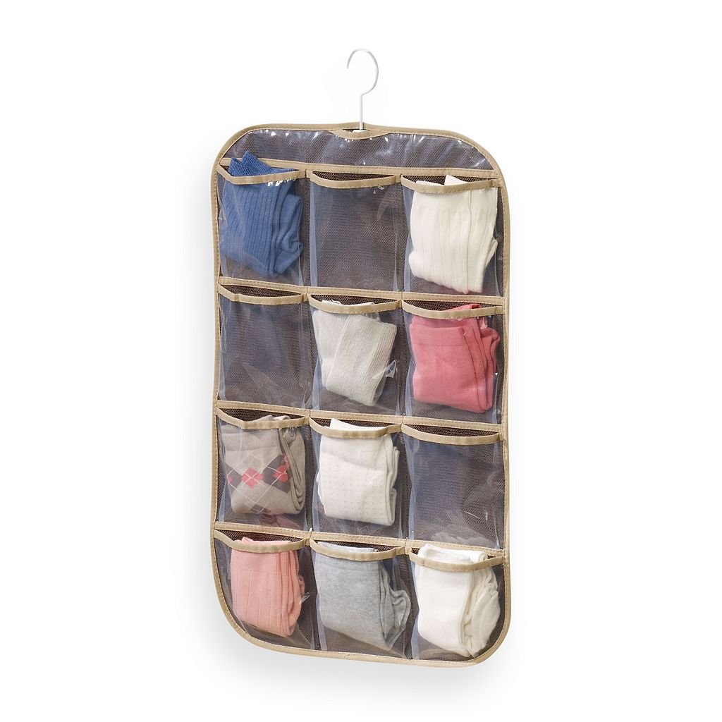 Household Essentials Hanging Jewelry and Stocking Organizer Set