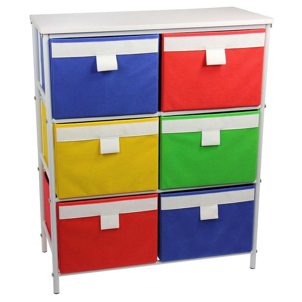 Household Essentials 3-Shelf Storage Tower
