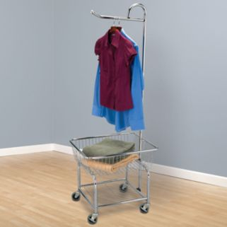 Household Essentials Rolling Laundry Butler