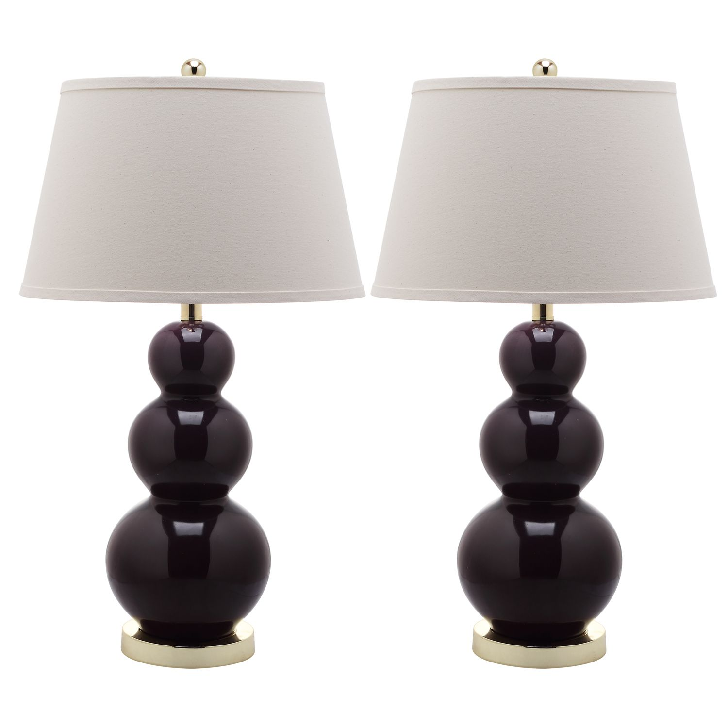 Safavieh 2 Pc. Pamela Triple Gourd Table Lamp Set
