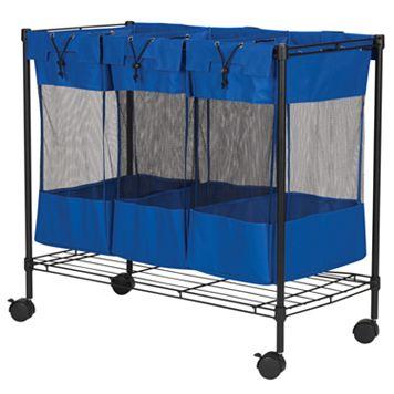 Household Essentials Triple Storage Bin