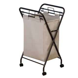 Household Essentials Rolling Laundry Hamper