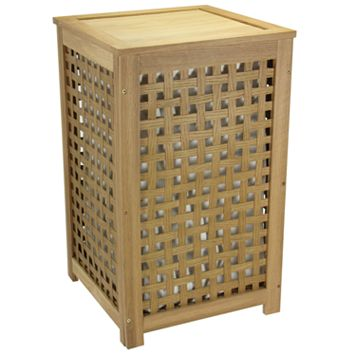 Household Essentials Lattice Laundry Hamper