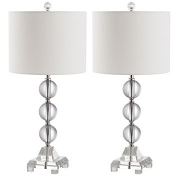 Safavieh 2-pc. Fiona Crystal Table Lamp Set