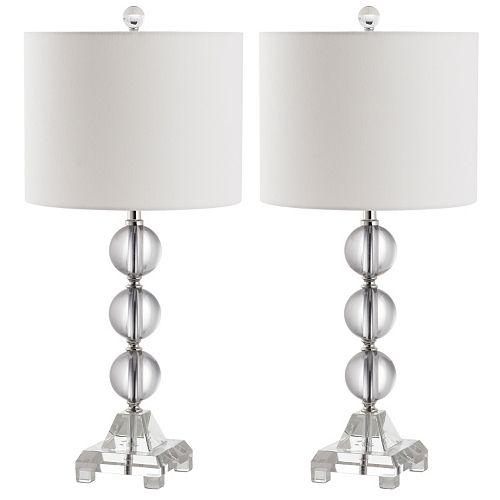 Safavieh 2-pc. Fiona Crystal Table Lamp Set