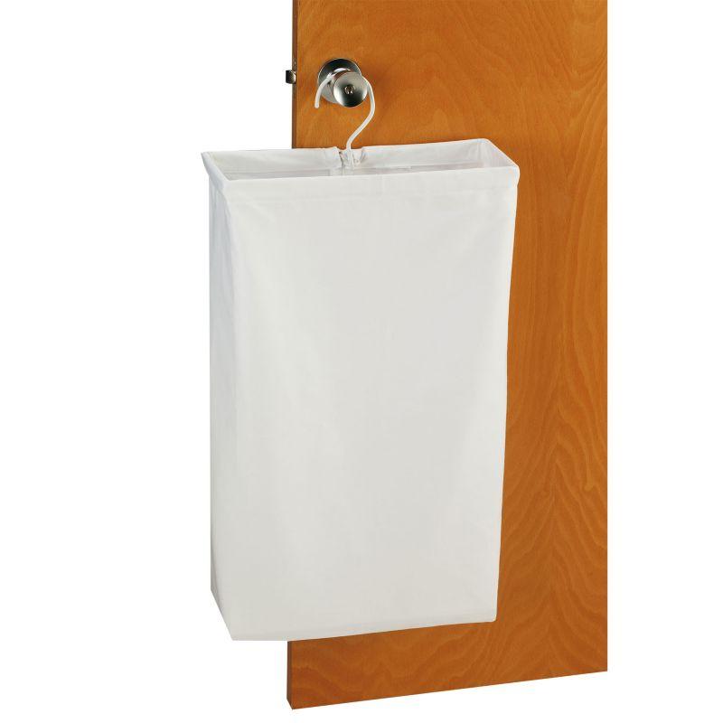 Household Essentials Hanging Laundry Bag, Beig/Green (Beig/Khaki)