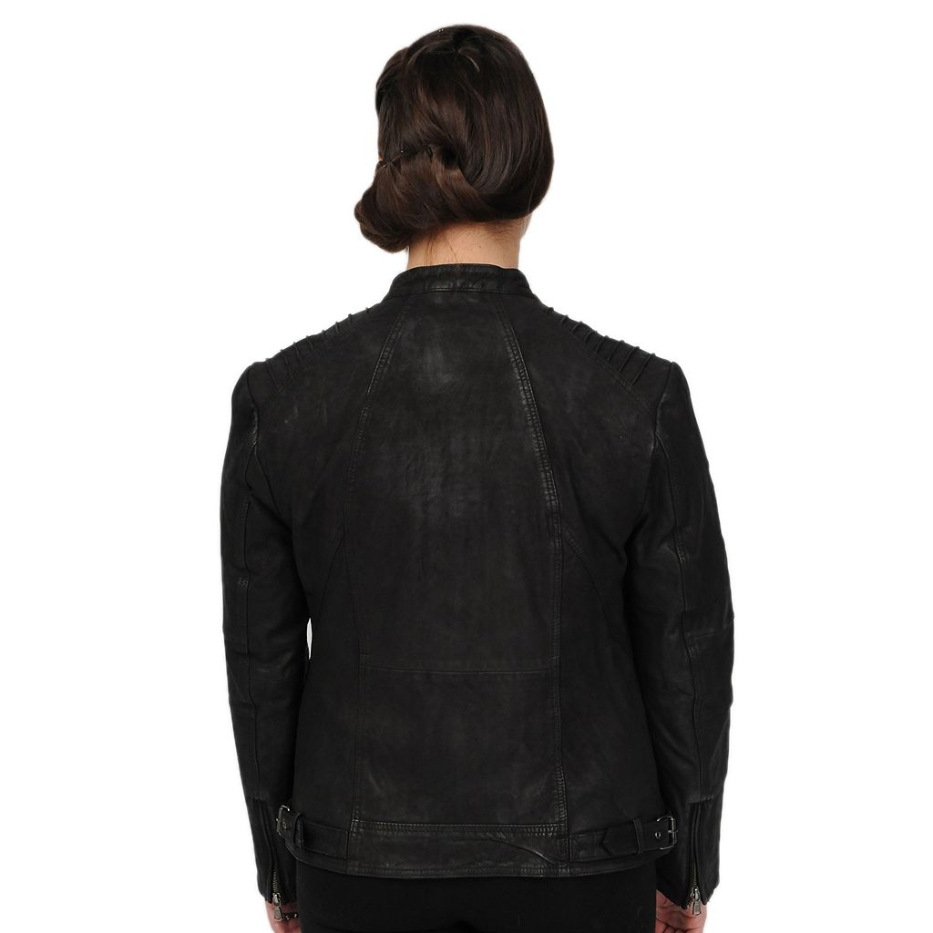 Excelled Sueded Leather Jacket
