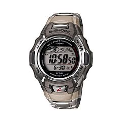 Casio Men's G-Shock Tough Solar Atomic Stainless Steel Digital Chronograph Watch - MTGM900DA-8