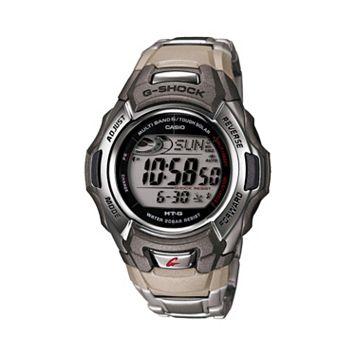 Casio Men's G-Shock Tough Solar Atomic Stainless Steel Digital Chronograph Watch - MTGM900DA-8