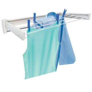 Leifheit Telefix 70 Wall-Mount Indoor/Outdoor Laundry Air Dryer