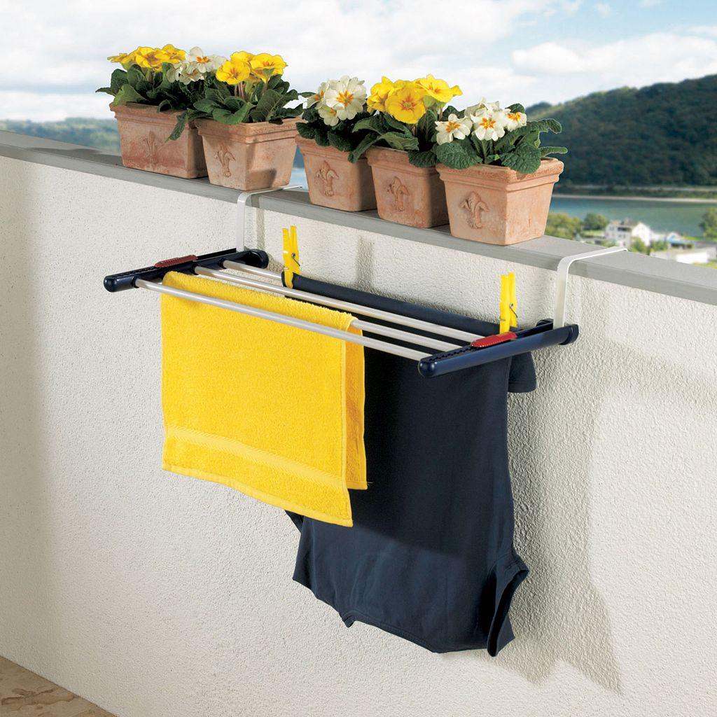 Leifheit Quartet Over-the-Door Laundry Drying Rack