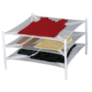 Household Essentials Fold-Away Stackable Laundry Dryer