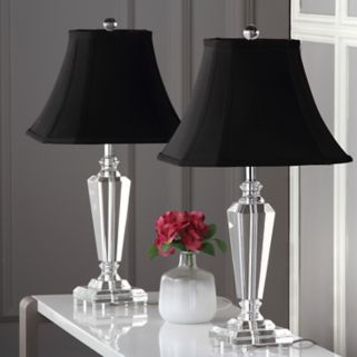 Safavieh 2-pc. Lilly Crystal Table Lamp Set