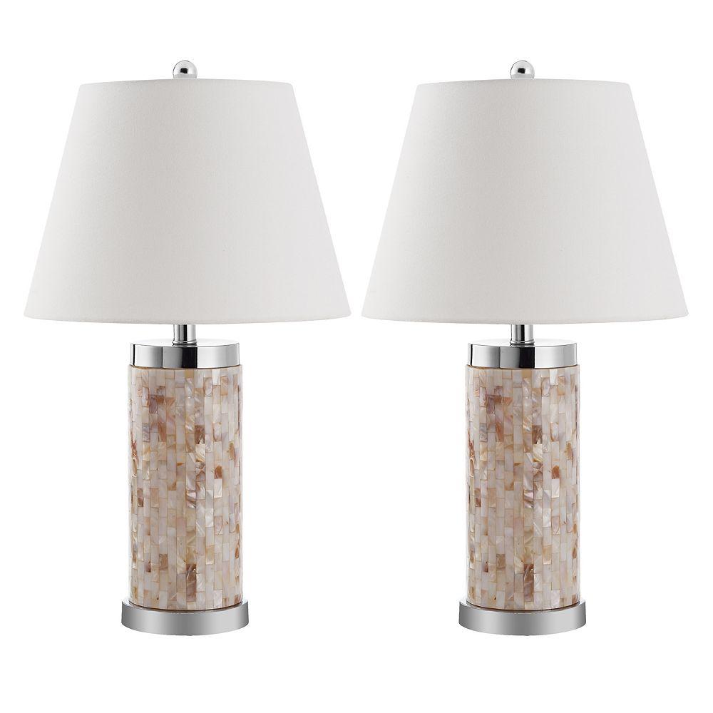 Safavieh 2-pc. Diana Shell Table Lamp Set