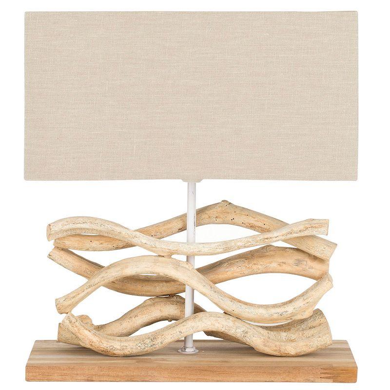 SafaviehSculptured Bleached BranchTable Lamp