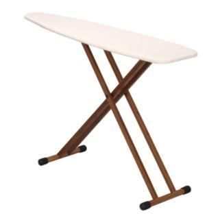 Household Essentials Fibertech Bamboo T-Leg Ironing Board