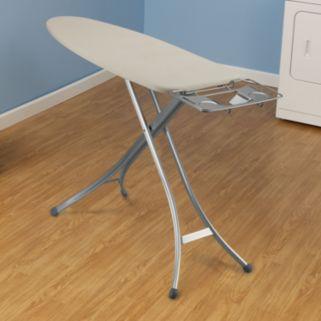 Household Essentials Fibertech Wide Top Lightweight Ironing Board