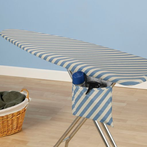 Household Essentials Ultra Series Mica Sparkle Stripe Reversible Ironing Board Cover