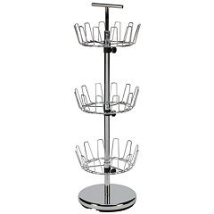 Household Essentials 3 tier Revolving Shoe Tree