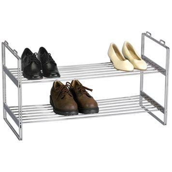 Household Essentials Stackable Shoe Shelf