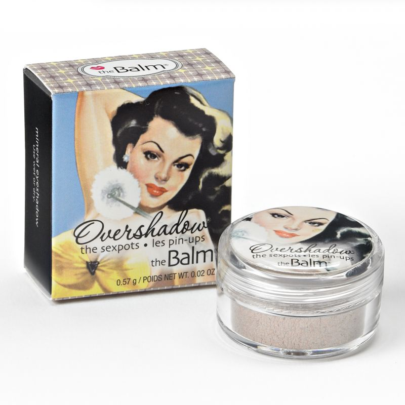 theBalm Overshadow All-Mineral Shimmering Eyeshadow, Brown