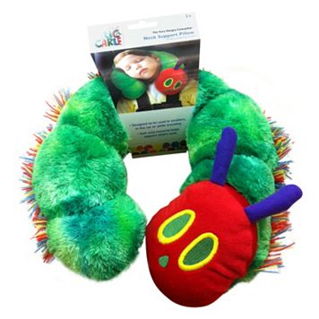 The World of Eric Carle Caterpillar Neck Support Pillow