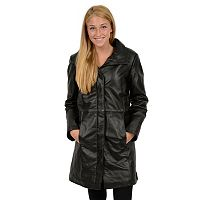 Women's Excelled Nappa Leather Coat