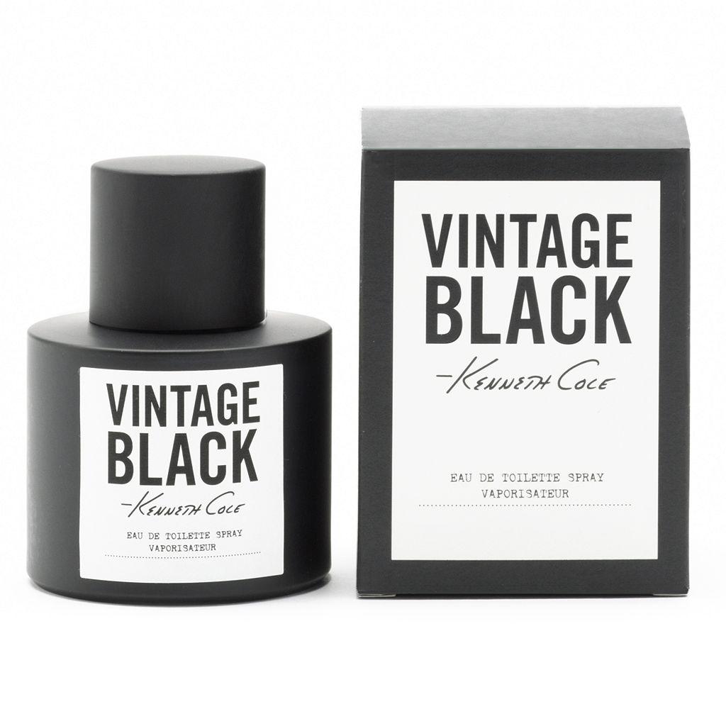 Kenneth Cole Vintage Black Men's Cologne - Eau de Toilette