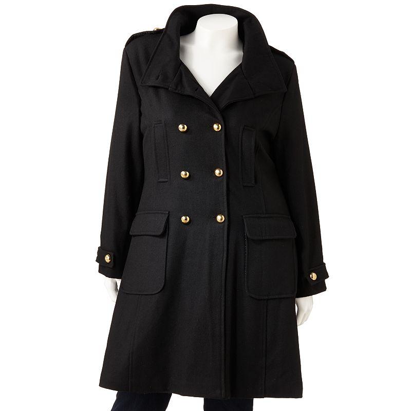 Excelled Wool-Blend Coat - Women's Plus