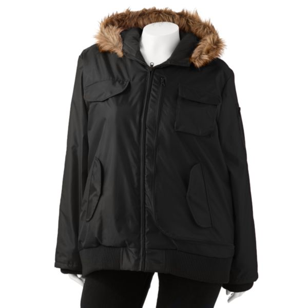 Excelled Bomber Jacket Women,s Plus