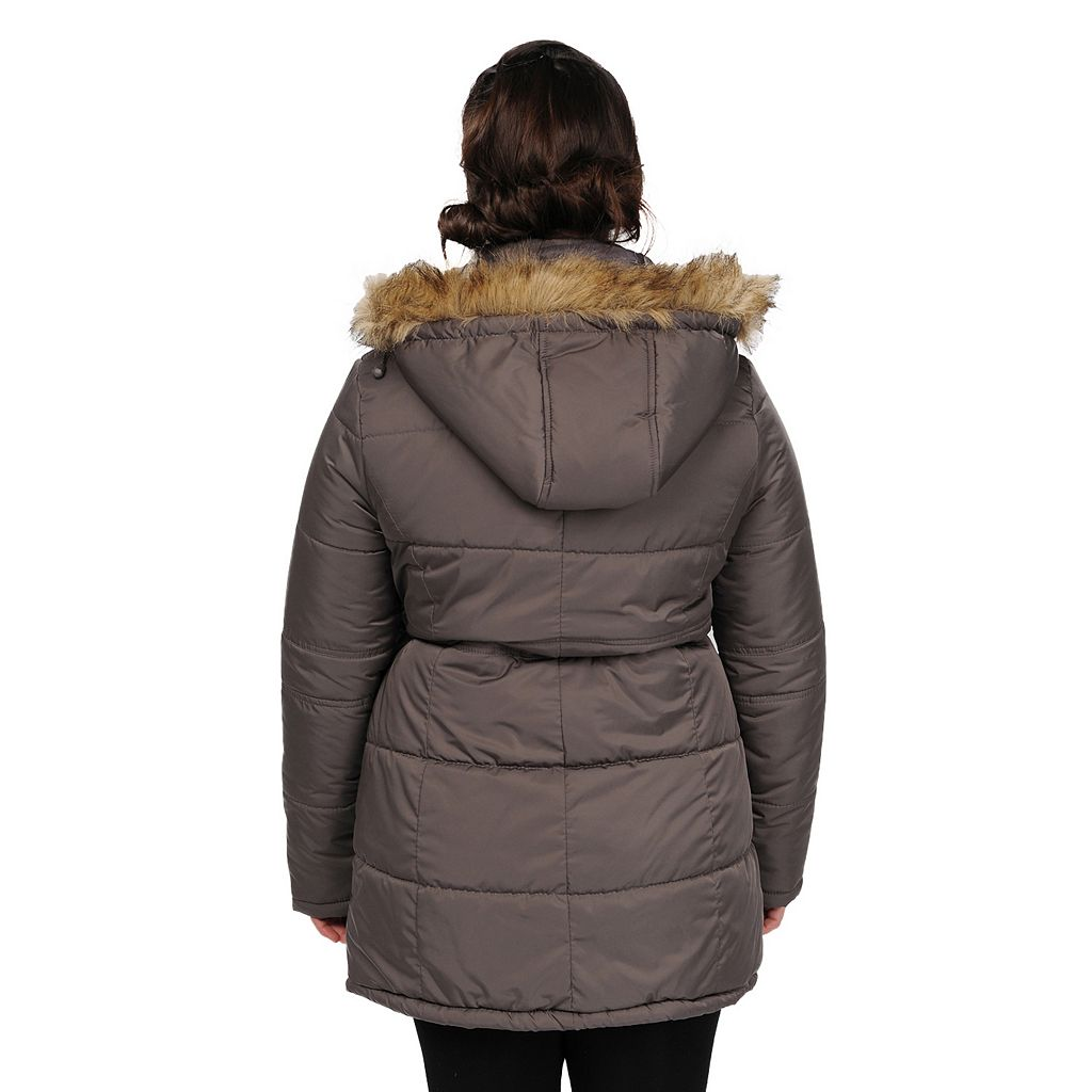 Excelled Quilted Anorak Jacket