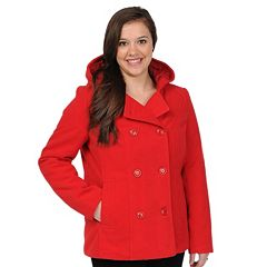 Women's Excelled Hooded Peacoat