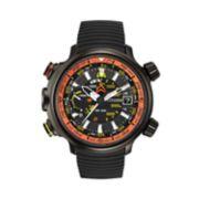 Citizen Eco-Drive Watch - Men's Promaster Altichron Black Ion Titanium Rubber - BN5035-02F