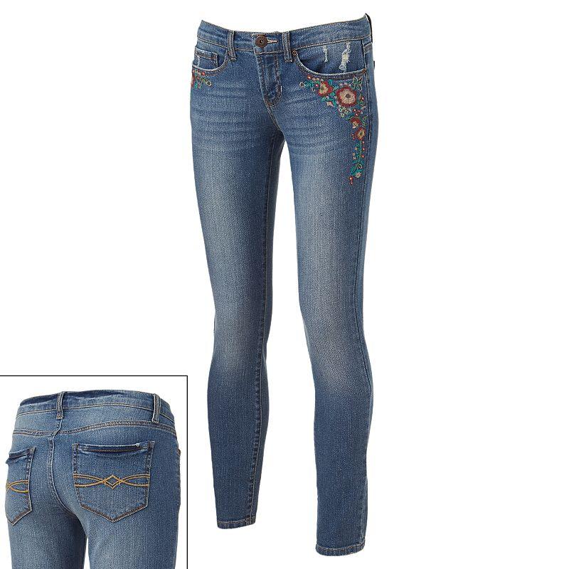 Embroidered Fashion Pants Kohl39s. Embroidered Jeans Kohls   makaroka com