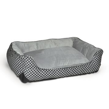 K and H Pet Lounge Sleeper Self-Warming Rectangle Pet Bed - 40'' x 32''
