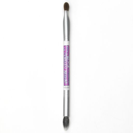 theBalm Give Crease a Chance Double-Ended Eyeshadow Brush