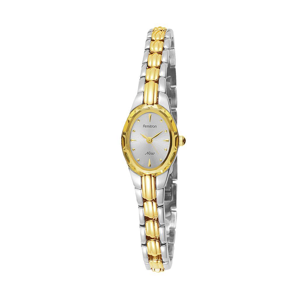 Armitron NOW Women's Two Tone Watch - 75/3313SVTT