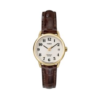 Timex Women's Leather Watch - T20071KZ