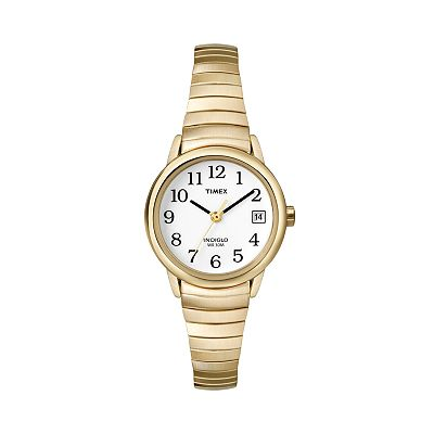 Timex Easy Reader Gold Tone Expansion Watch - T2H3519J - Women